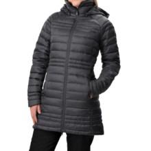 Burton [ak] Long Baker Down Jacket - 800 Fill Power (For Women) in True Black - Closeouts